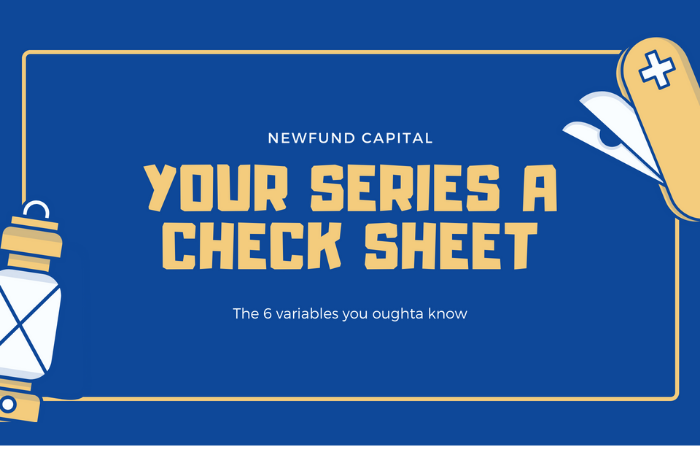 Your Series A check sheet ✔️